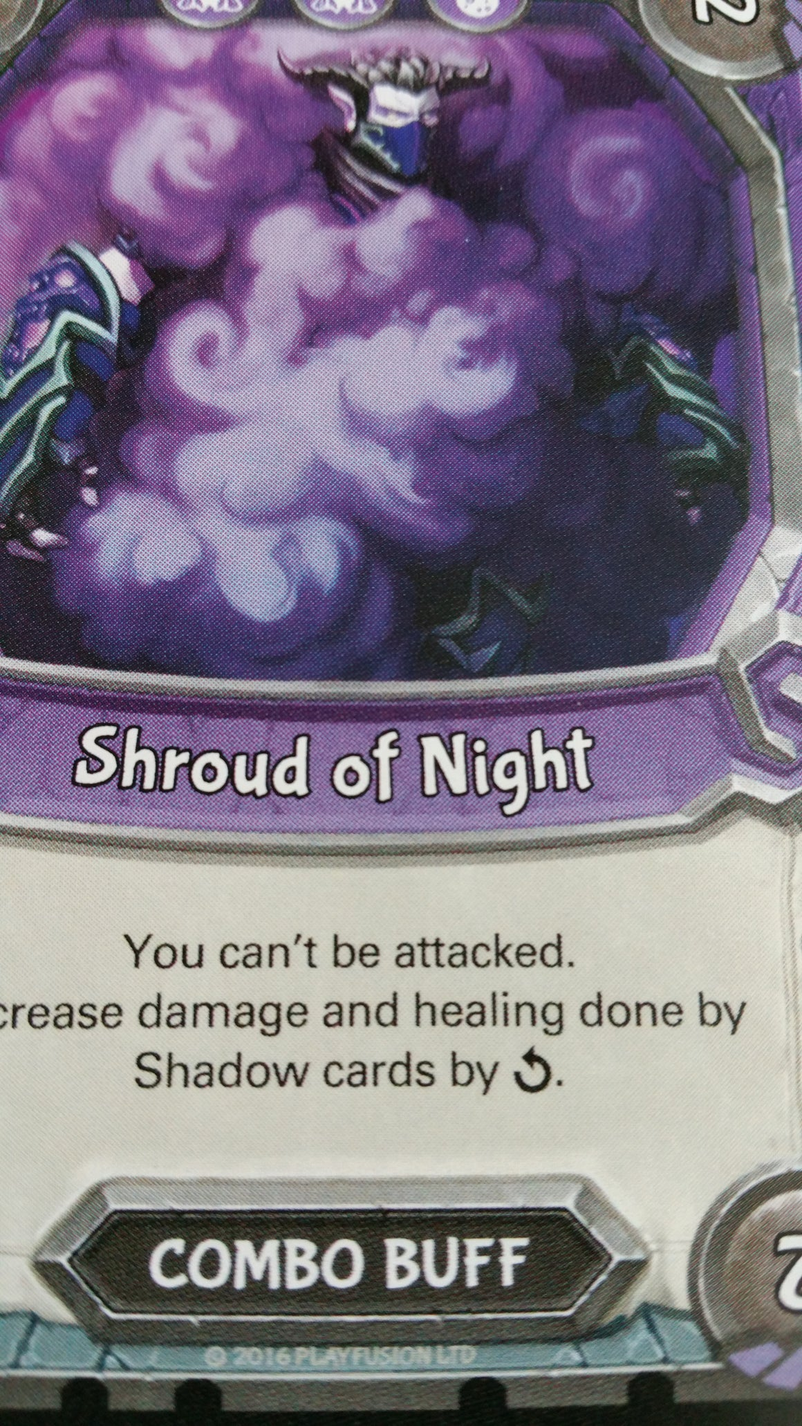 Lightseekers - Dread - Combo Buff - Common - Shroud of Night