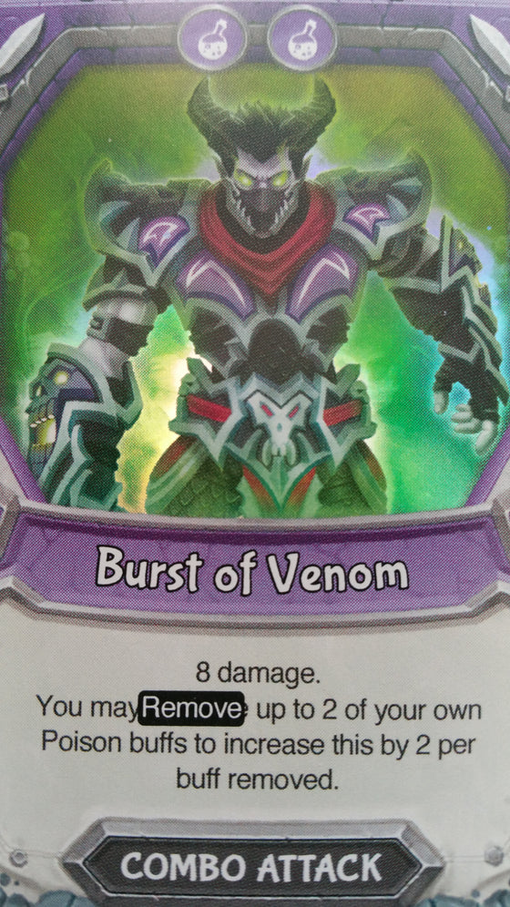 Lightseekers - Dread - Combo Attack - Common - Burst of Venom