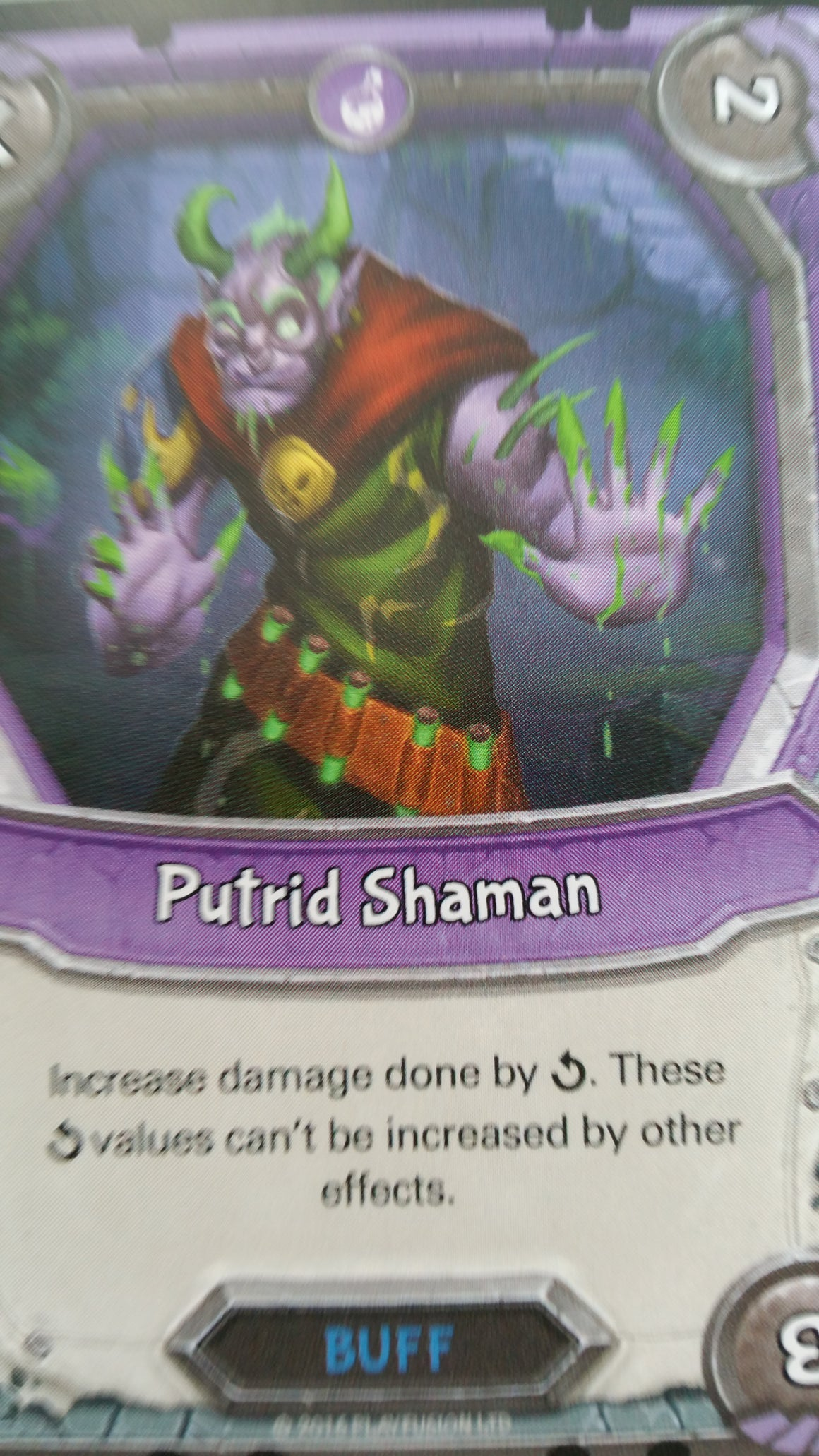 Lightseekers - Dread - Buff - Uncommon - Putrid Shaman