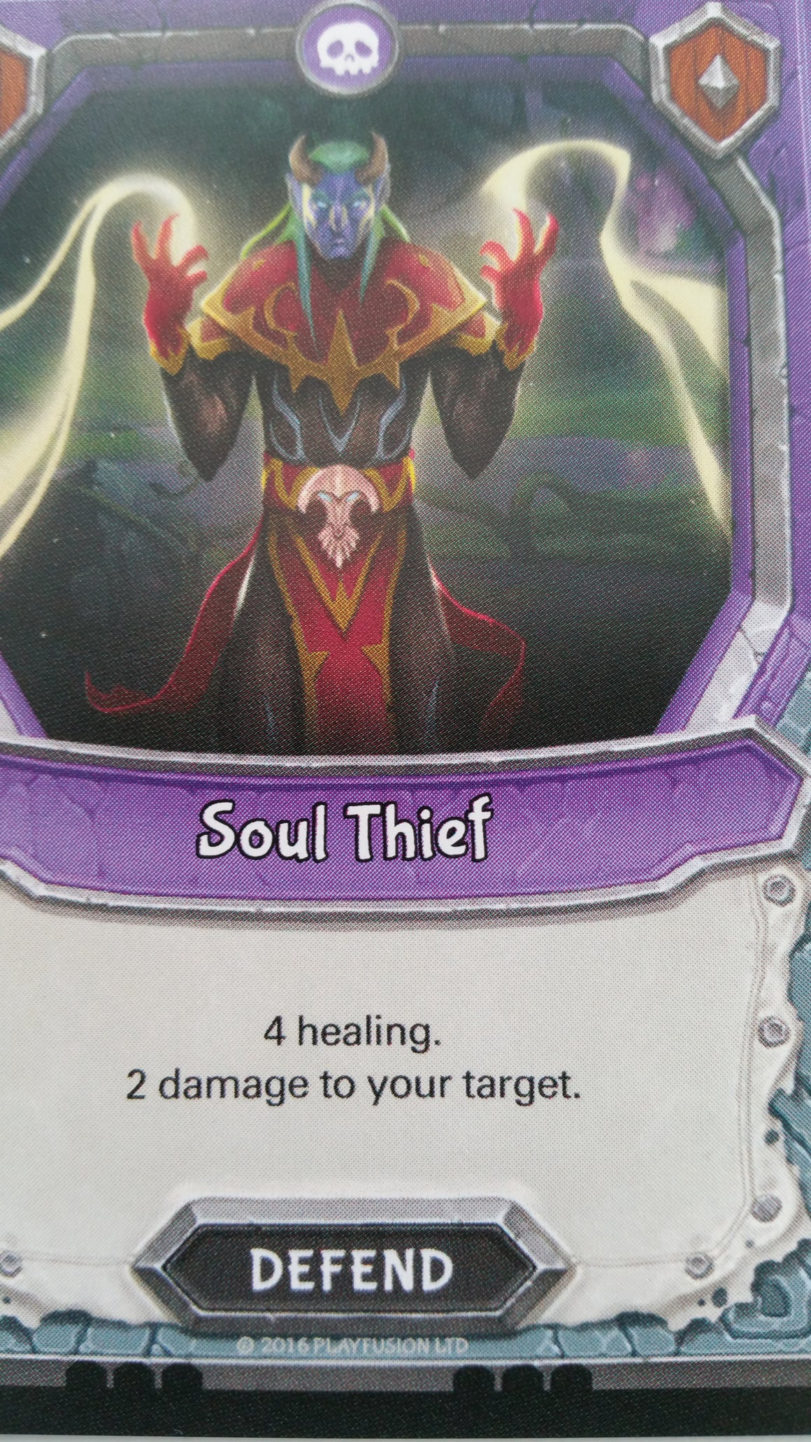 Lightseekers - Dread - Defend - Common - Soul Thief