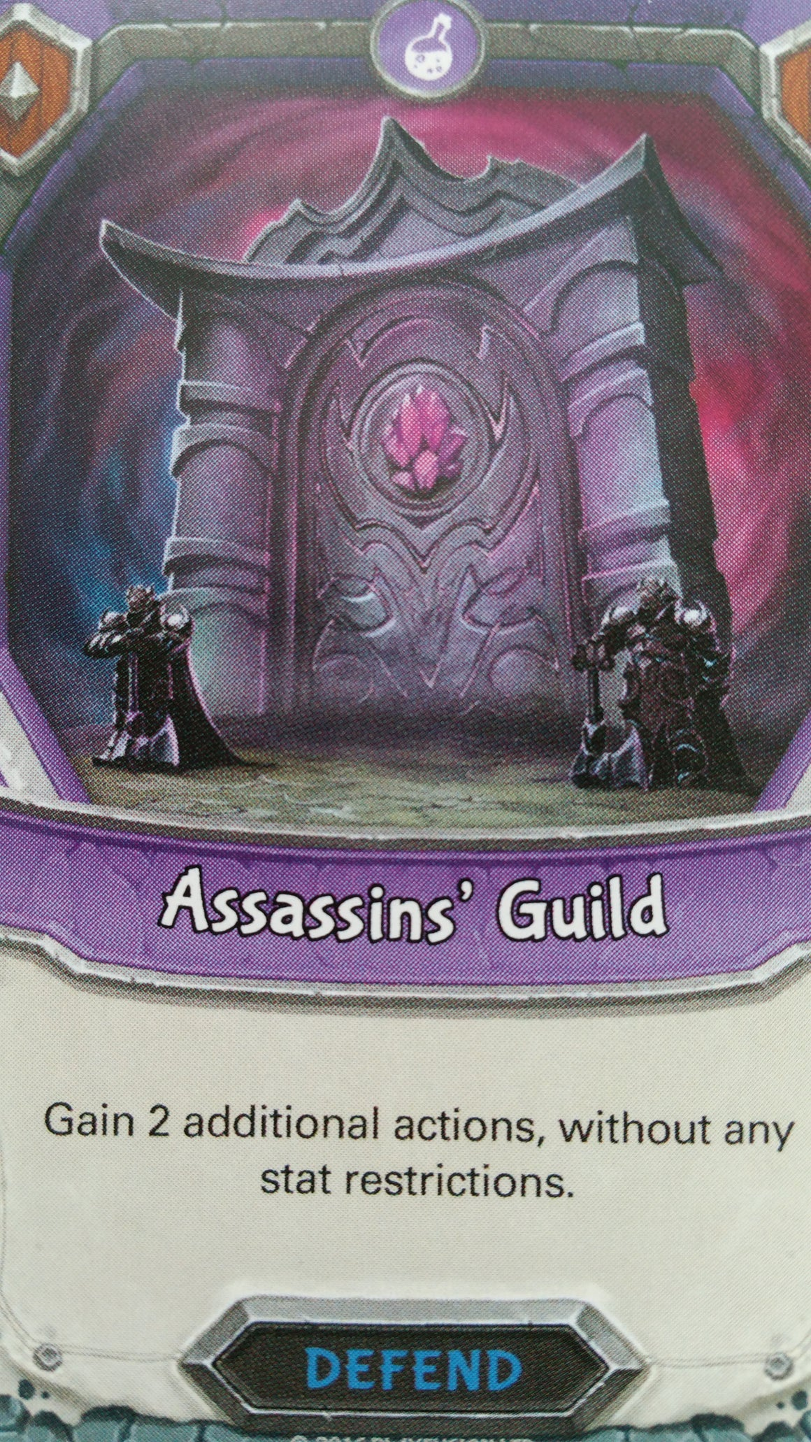Lightseekers - Dread - Defend - Uncommon - Assassins' Guild