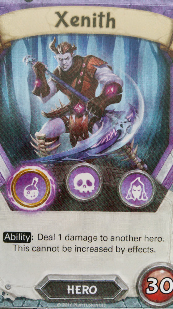 Lightseekers - Dread - Hero - Common - Xenith