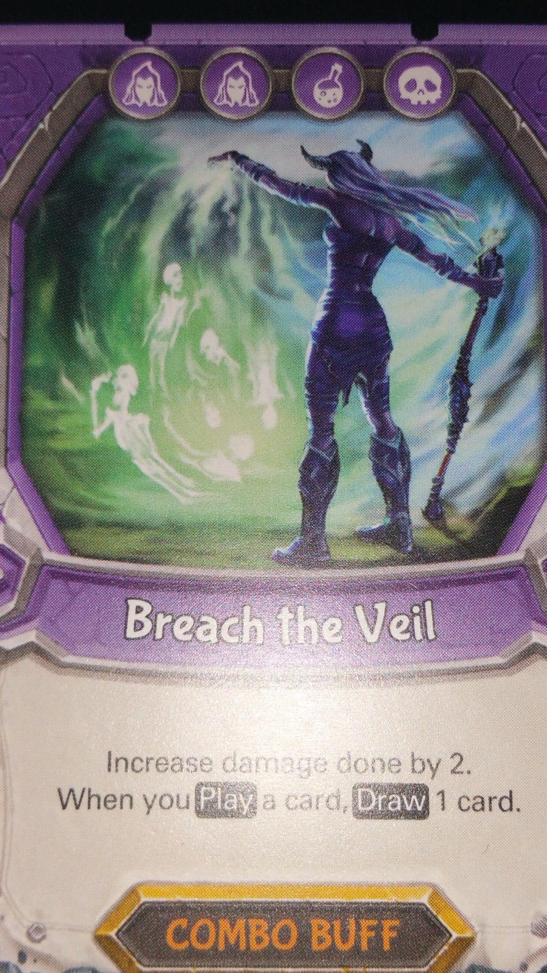 Lightseekers - Dread - Combo Buff - Rare - Breach the Veil