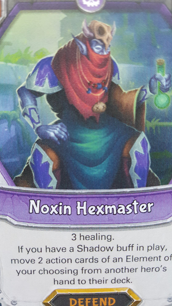 Lightseekers - Dread - Defend - Rare - Noxin Hexmaster