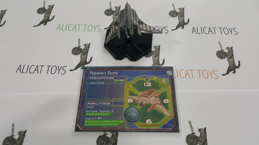 Star Wars Starship Battles 40/60 Palpatines Shuttle