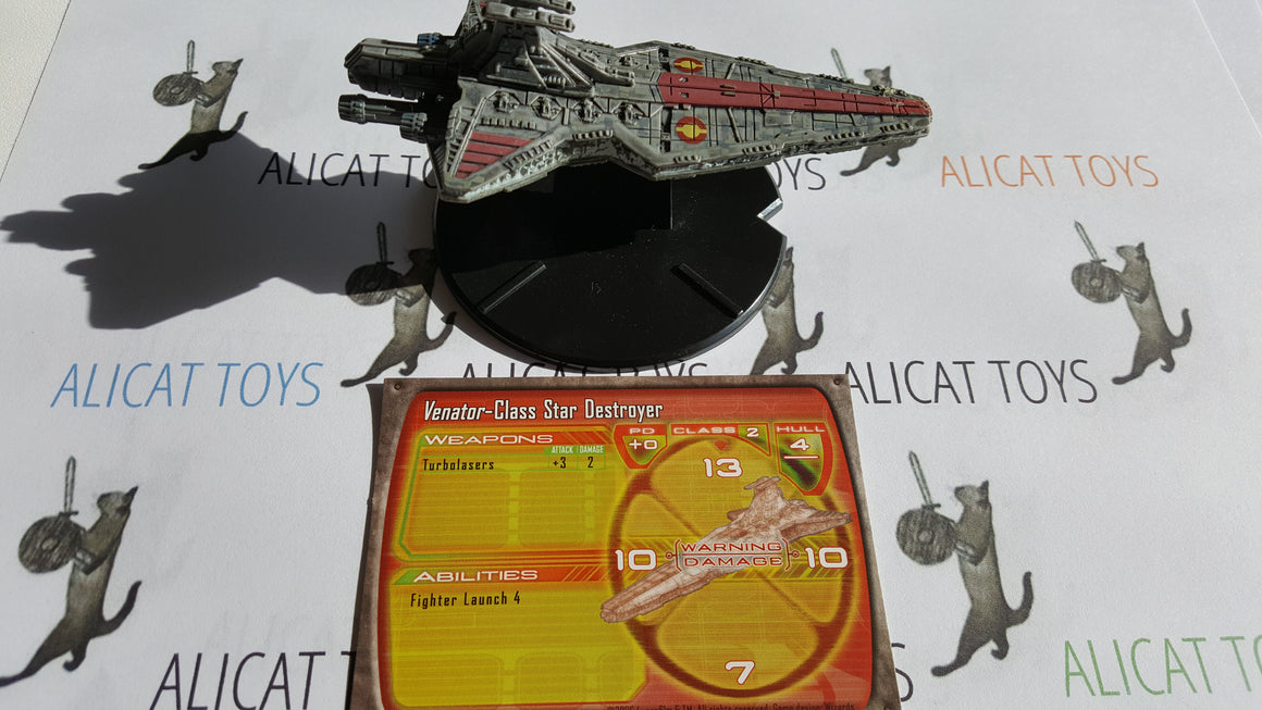 Star Wars Starship Battles 06/60 Venator-Class Star Destroyer