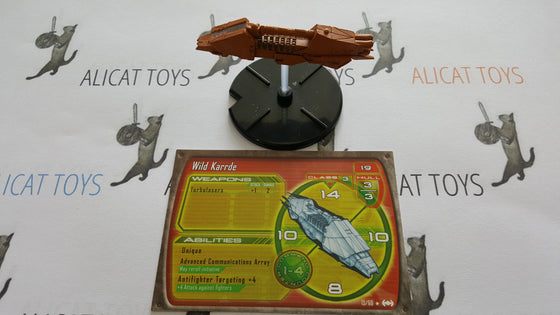 Star Wars Starship Battles 13/60 Wild Karrde