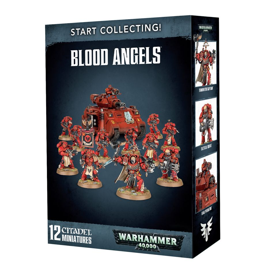 Games Workshop Warhammer 40k Blood Angels Start Collecting
