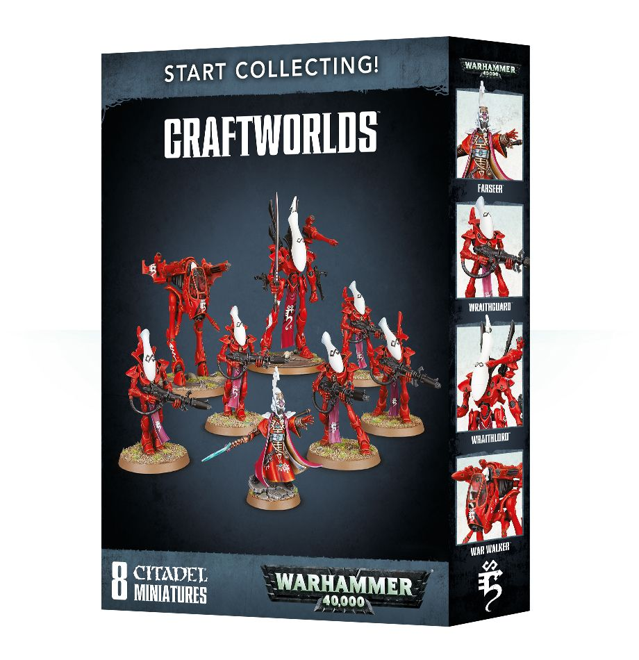Games Workshop Warhammer 40k Craftworlds Start Collecting