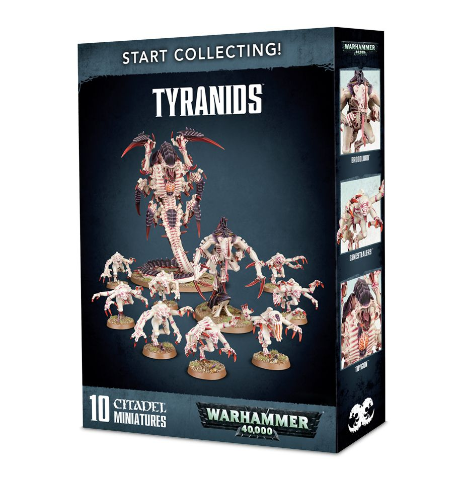 Games Workshop Warhammer 40k Tyranids Start Collecting
