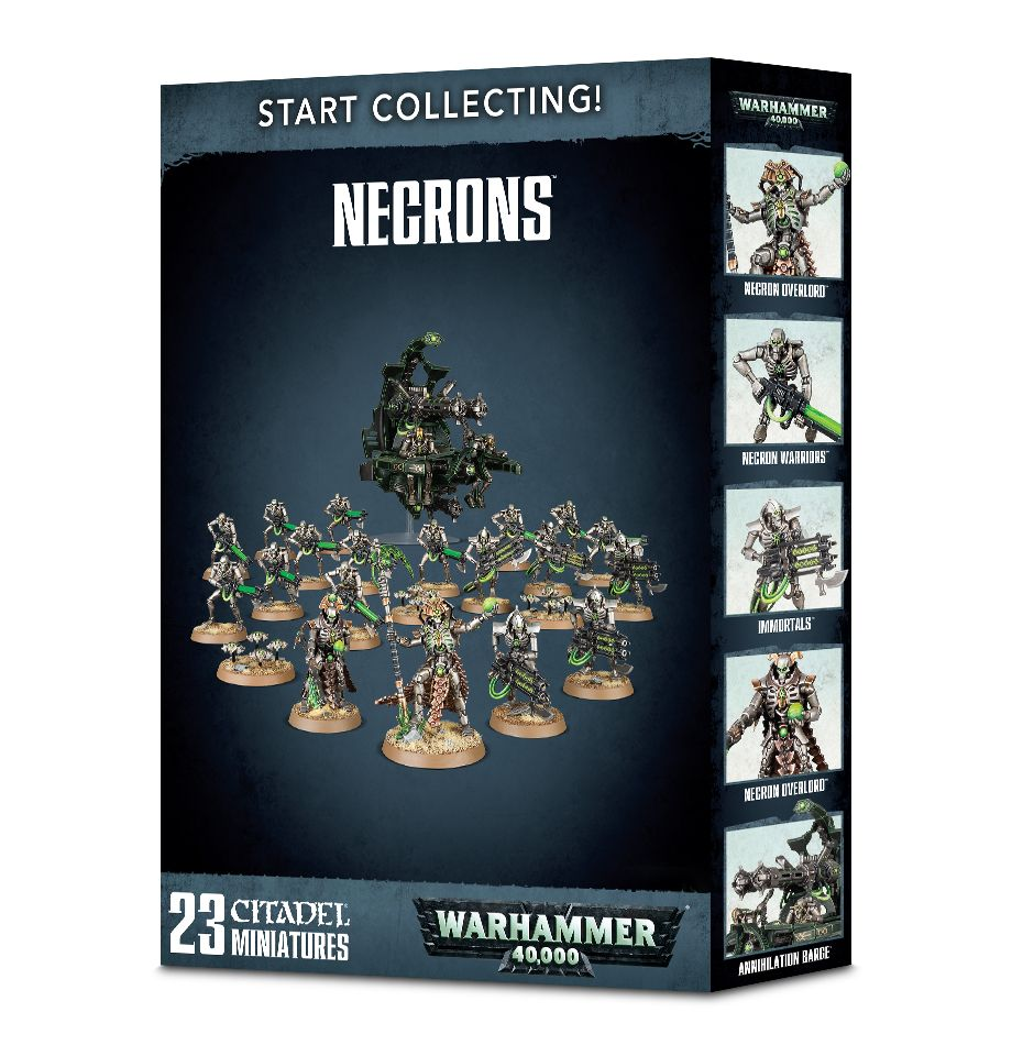 Games Workshop Warhammer 40k Necron Start Collecting
