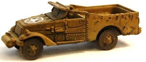 Axis Allies Counter Offensive 14/50 M3A1 Scout Car Uncommon