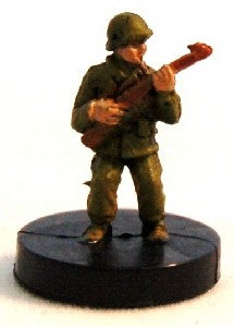 Axis Allies Counter Offensive 16/50 Marine Sergeant Uncommon