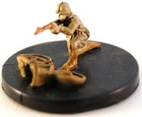 Axis Allies Early War 02/50 Belgium Bicycle Troop Common