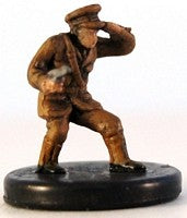 Axis Allies Early War 04/50 Belgium Officer Uncommon