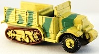 Axis Allies Early War 09/50 P107 Half-Track Uncommon
