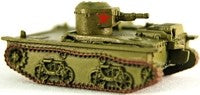 Axis Allies Early War 28/50 T-38 Light Amphibious Tank Uncommon