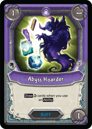 Abyss Hoarder Foil Mythical Uncommon