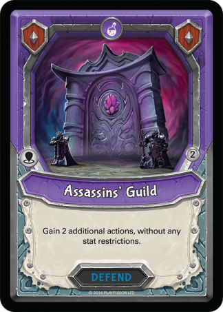 Assassins' Guild Mythical Uncommon