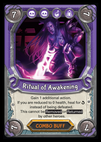 Lightseekers - Dread - Combo Buff - Rare - Ritual of Awakening