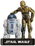 Star Wars Miniatures Alliance & Empire 05/60 C-3PO & R2-D2