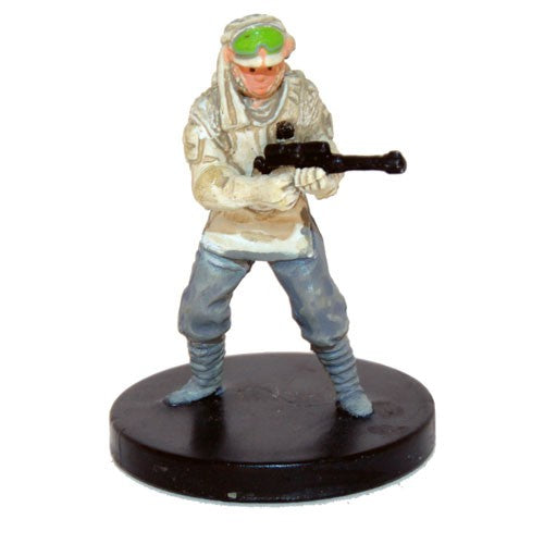 Star Wars Miniatures Star Wars: Battle of Hoth 01/17 Elite Hoth Trooper