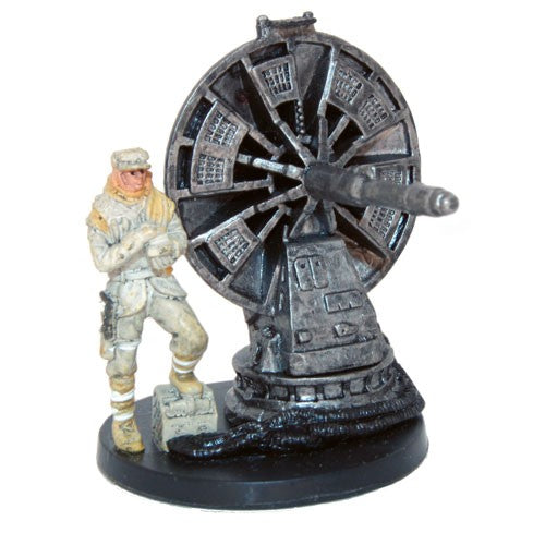 Star Wars Miniatures Star Wars: Battle of Hoth 06/17 Hoth Trooper with Atgar Cannon