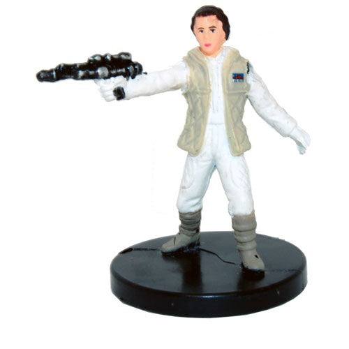 Star Wars Miniatures Star Wars: Battle of Hoth 08/17 Princess Leia, Hoth Commander