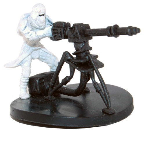 Star Wars Miniatures Star Wars: Battle of Hoth 17/17 Snowtrooper with E-Web Blaster