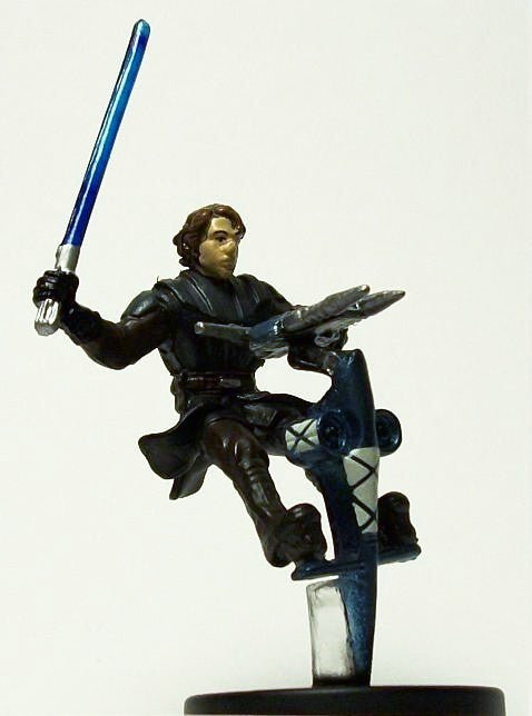 Star Wars Miniatures Clone Wars 04/40 Anakin Skywalker on STAP