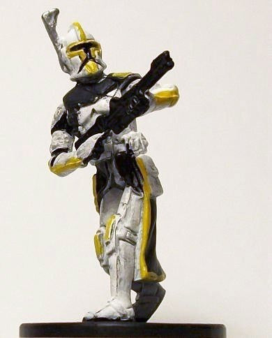 Star Wars Miniatures Clone Wars 18/40 Star Corps Trooper