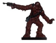 Star Wars Miniatures Clone Wars 19/40 Wookiee Scoundrel