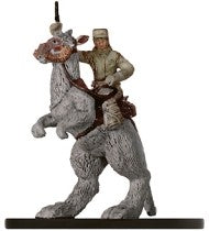 Star Wars Miniatures Force Unleashed 22/60 Rebel Trooper on Tauntaun