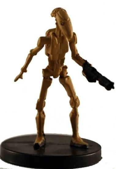 Star Wars Miniatures Galaxy at War 02/40 Battle Droid