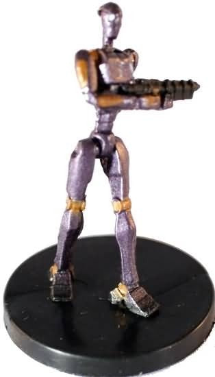 Star Wars Miniatures Galaxy at War 06/40 Commando Droid
