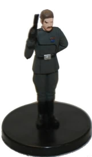 Star Wars Miniatures Galaxy at War 16/40 Admiral Yularen