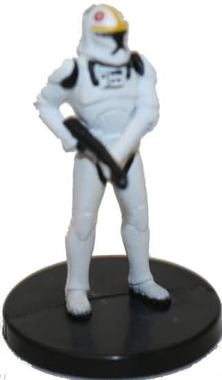 Star Wars Miniatures Galaxy at War 20/40 Clone Trooper Pilot