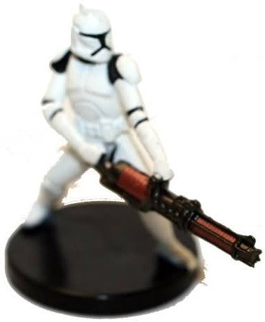 Star Wars Miniatures Galaxy at War 23/40 Clone Trooper with Repeating Blaster
