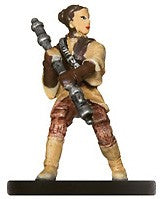 Star Wars Miniatures Imperial Entanglements 05/40 Leia, Bounty Hunter