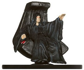 Star Wars Miniatures Imperial Entanglements 13/40 Emperor Palpatine