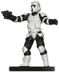Star Wars Miniatures Imperial Entanglements 19/40 Scout Trooper