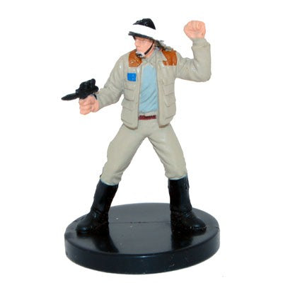 Star Wars Miniatures Bounty Hunters 10/60 Rebel Captain