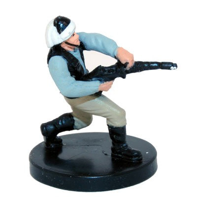 Star Wars Miniatures Bounty Hunters 11/60 Rebel Heavy Trooper