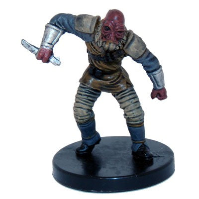 Star Wars Miniatures Bounty Hunters 15/60 Aqualish Assassin