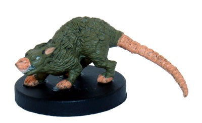 01/43 - Giant Rat - Common - Monster Menagerie 2