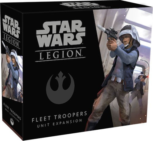 Star Wars Legion Fleet Troopers Unit Expansion