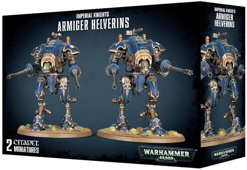 Games Workshop Warhammer 40k Armiger Helverins