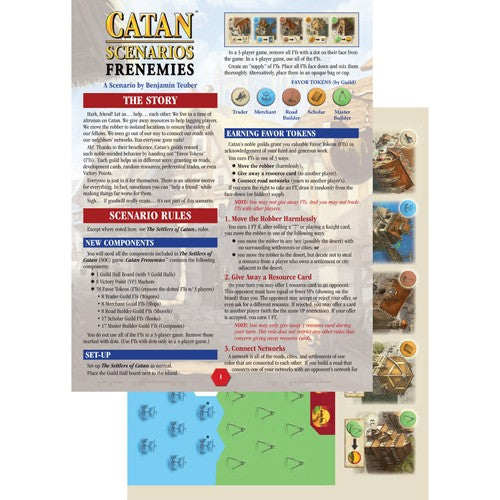 Catan Scenarios Frenemies