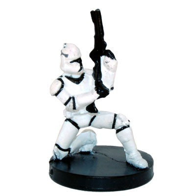 Star Wars Miniatures Clone Wars Starter 02/06 Clone Trooper
