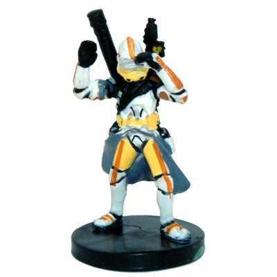 Star Wars Miniatures Clone Wars Starter 03/06 Clone Trooper Commander